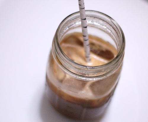 buttered iced coffee