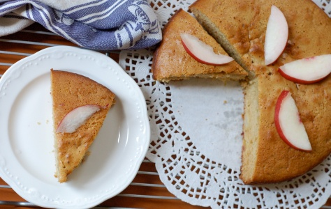 nectarine and peach cake 3