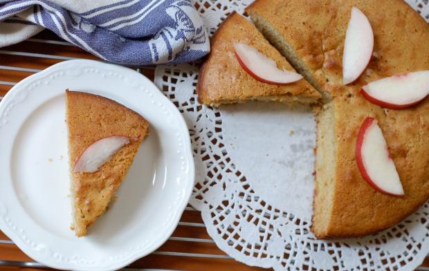 nectarine and peach cake 3