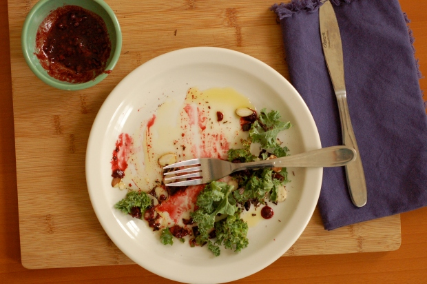 Chocolate and Kale Obliterated spoonandapron
