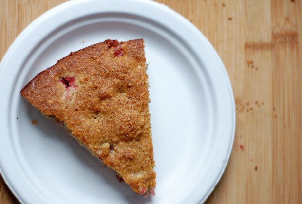 cranberry cake spoon&apron 1