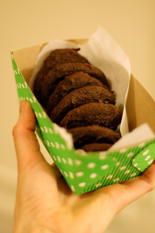 Dark Chocolate Cookies Pack it Up